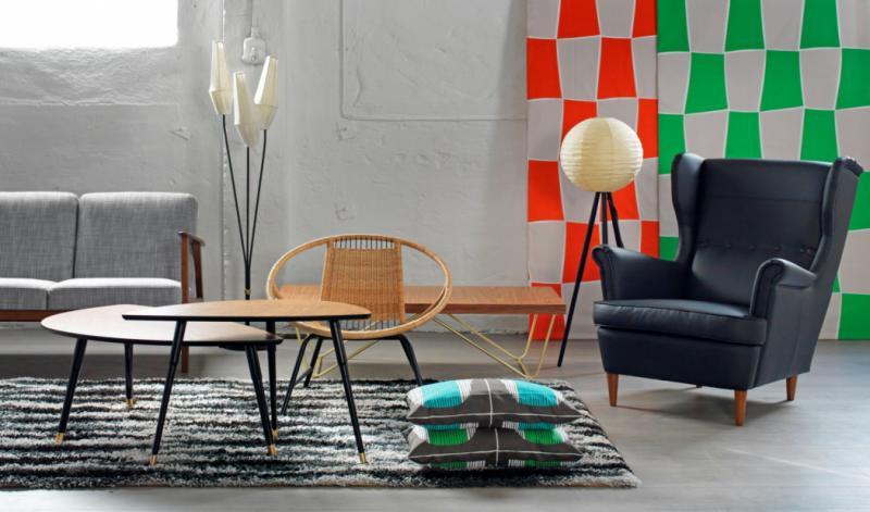 IKEA ha rimesso in vendita oggitti di design degli anni 50 e 60 [