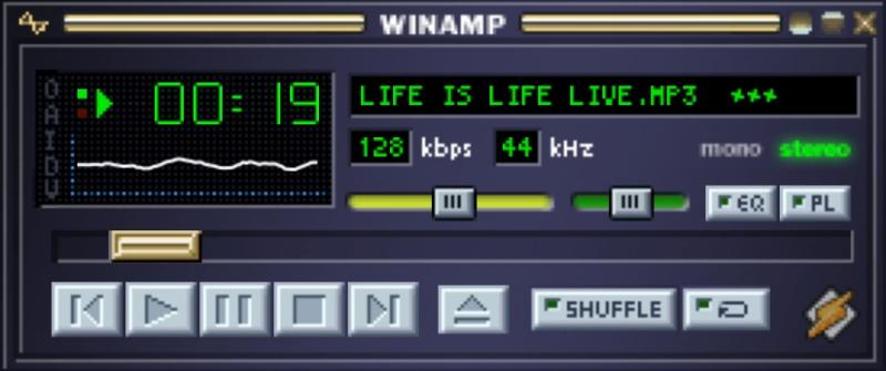 HTML5 MP3 player with javascript Winamp2-