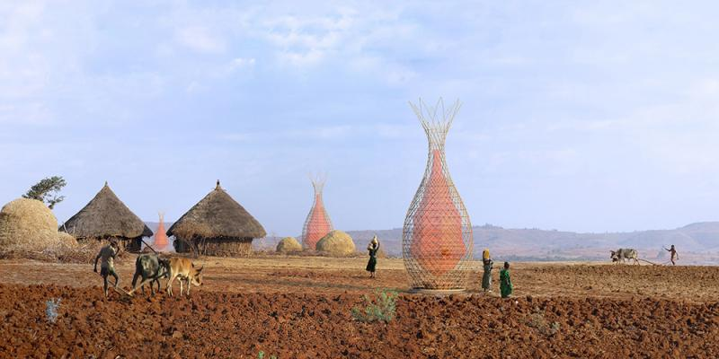 The Tree of Life  In Ethiopia, women and children have to walk several kilometers every day to collect a bit '