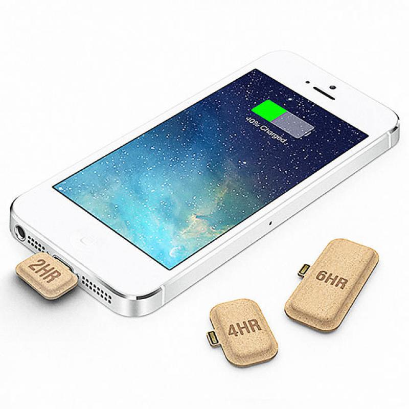 This Tiny Cardboard Battery Is Like A Vitamin For Your Smartphone  Just break a battery capsule off and plug it into your smartphone for up to six extra hours of talk time.