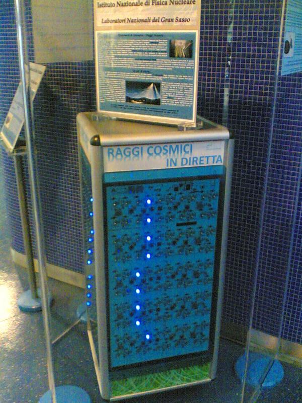 Raggi cosmici nella metro Toledo  All�