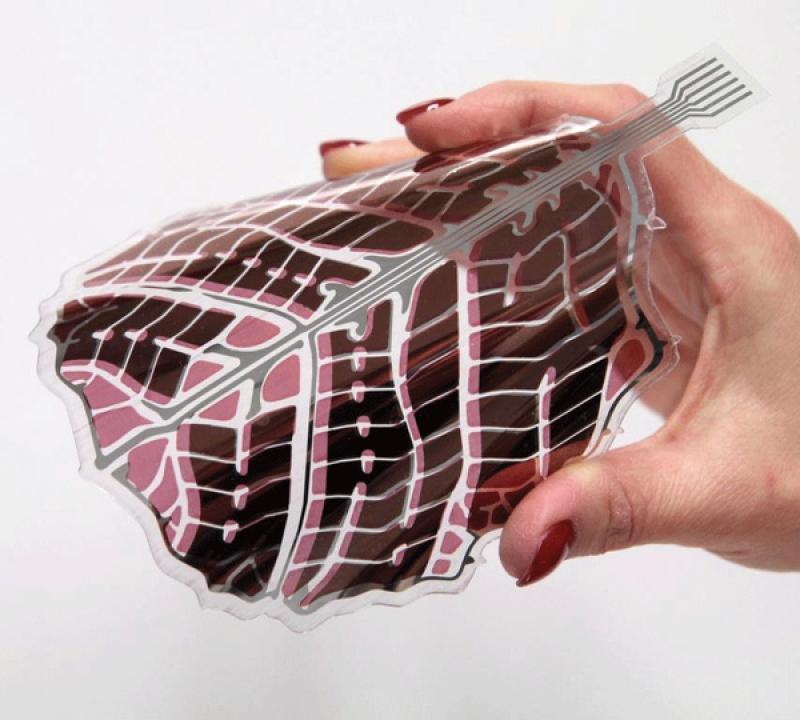 Dalla Finlandia  la carta da parati Fotovoltaica I ricercatori del Vtt hanno realizzato un pannello fotovoltaico flessibile e riciclabile che produce energia elettrica per l'