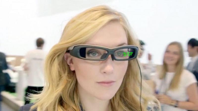 Sony, ecco gli SmartEyeGlass [