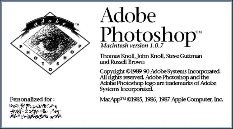 25 anni di PhotoShop Adobe ha festeggia i 25 anni dalla introduzione di Photoshop, uno dei software pi&