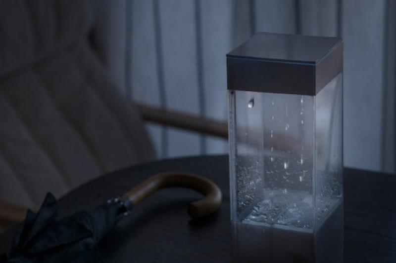 Tempescope The Tempescope brings the weather into your living room.