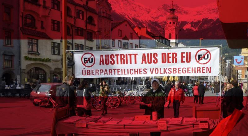 Intanto in Austria zitti zitti alla chetichella fanno i referendum per uscire dall'