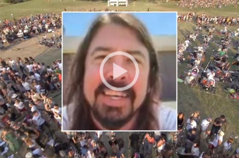 Foo Fighters Dave Grohl says YES