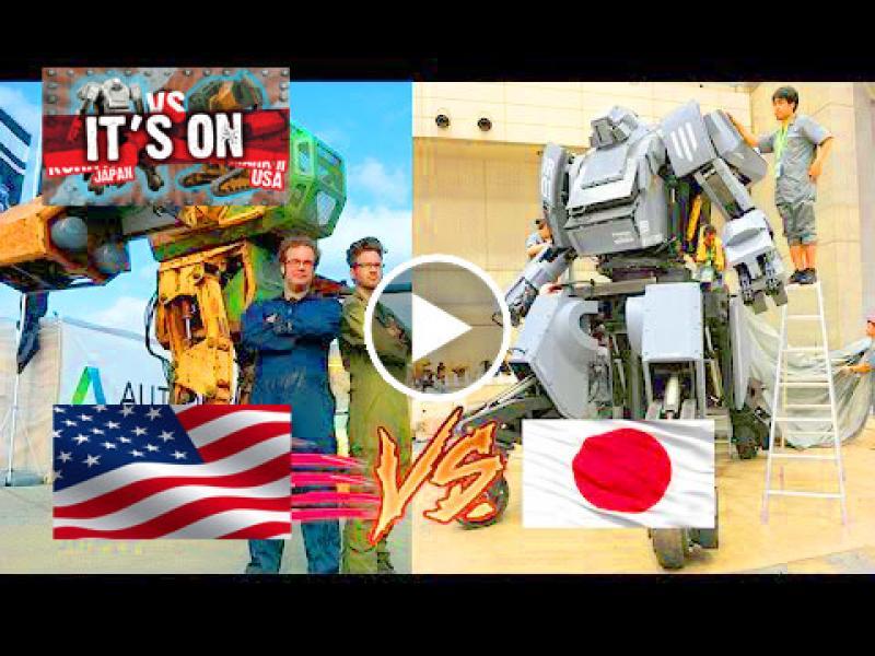 TEAM USA KICKSTARTER FOR GIANT ROBOT DUEL KICKSTARTER LINK IS HERE: