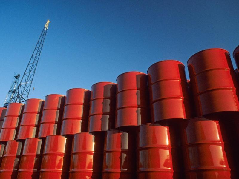 Oil price falls below $