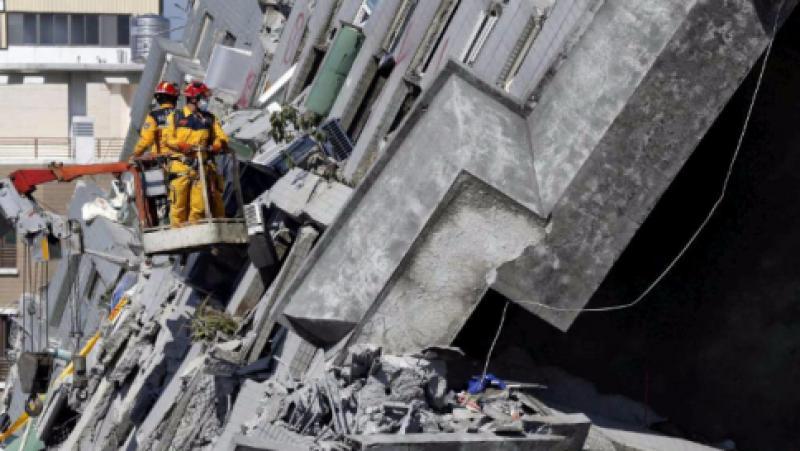 Terremoto a Taiwan: