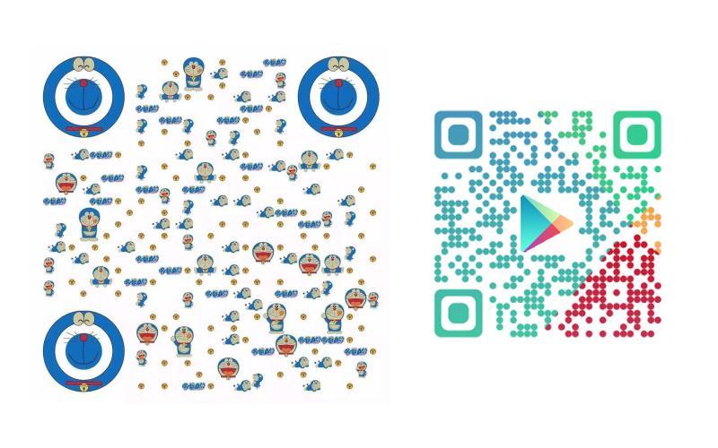 QR Code con immagini I QRcode sono codici Quick Response costituiti da zone chiare e scure.