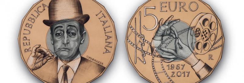 La Zecca di Stato conia una moneta da 5 euro per ricordare Tot&