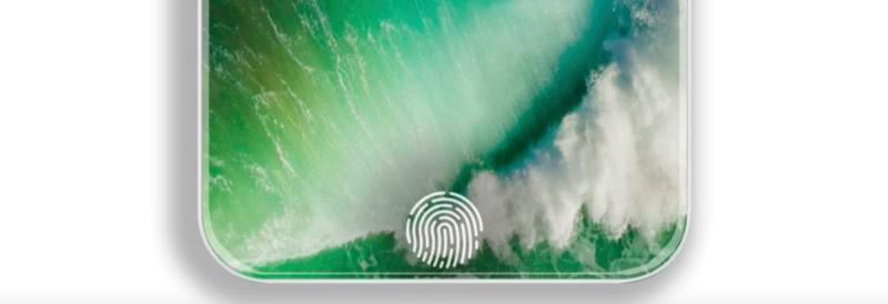 IPhone 8 ha la funzione Touch ID direttamente sullo schermo OLED con sensore ottico di impronte digitali  Un nuovo rapporto della Economic Daily News, via Digitimes, indica che l'