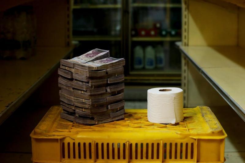 In Venezuela  il denaro ormai non si conta.