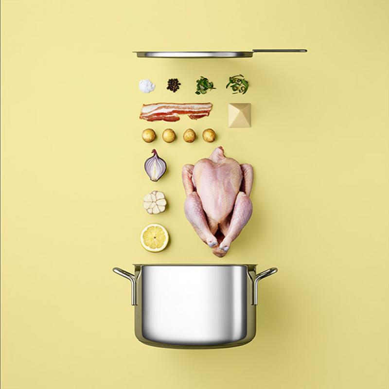 Le ordinatissime ricette still-